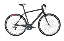 Cube SL Cross Race black anodized